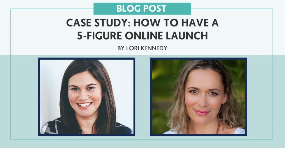 Case Study: How to Have a 5-Figure Online Launch